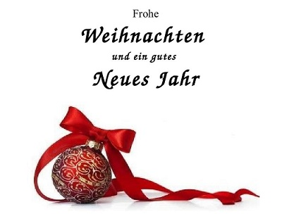 Frohe Festtage!!
